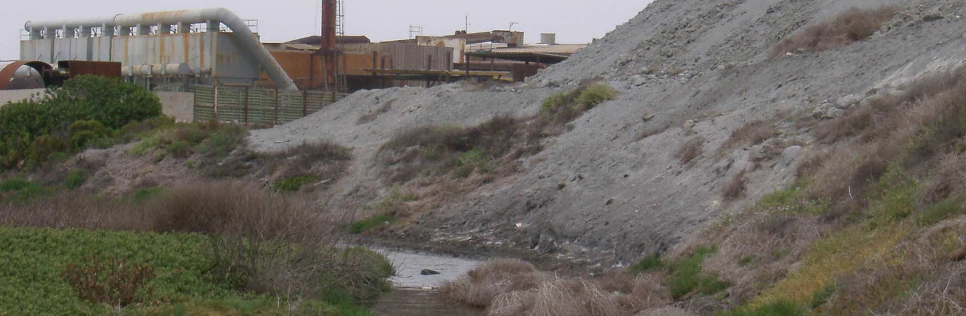 Halaco Engineering's superfund site.