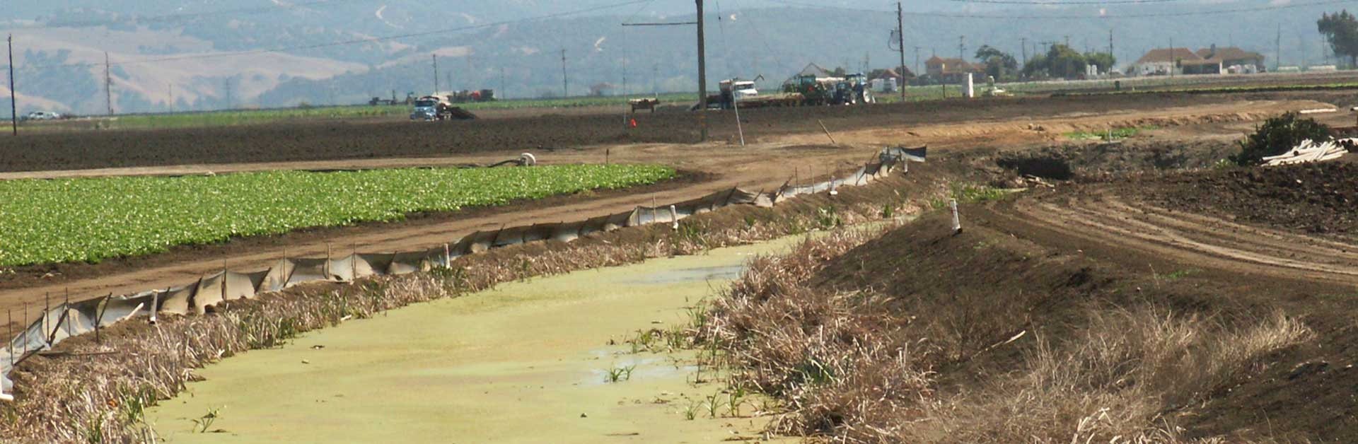 Agricultural pollution.