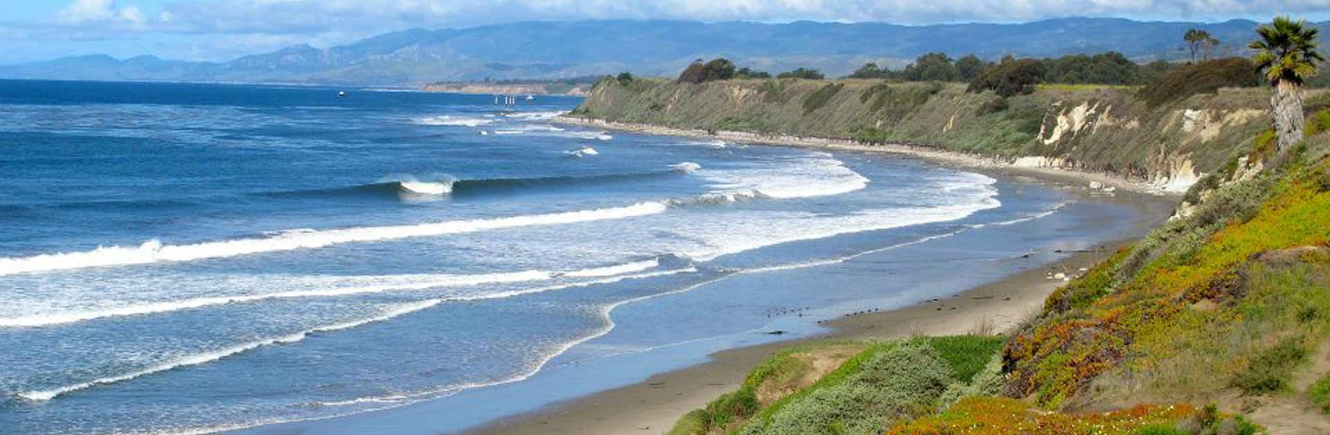Santa Barbara coastline.